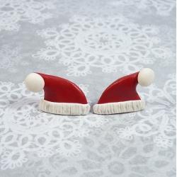 Sztyfty mikołajowe czapeczki