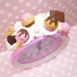 Budzik z lodem i czekoladą