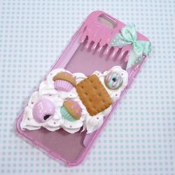 Obudowa na telefon z pastelowymi słodyczami