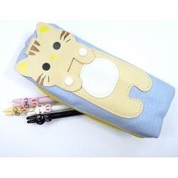 Piórnik kotek żółty