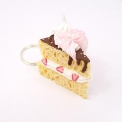 Brelok kawałek tortu 3