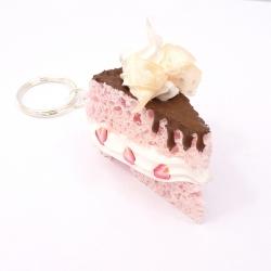 Brelok kawałek tortu 4