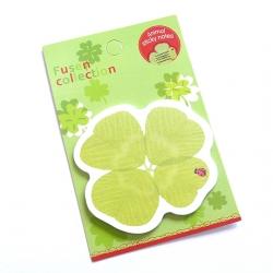Karteczki samoprzylepne koniczynka