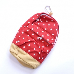 Piórnik plecaczek czerwony