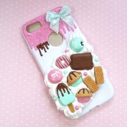 Obudowa na telefon z lodem i słodyczami