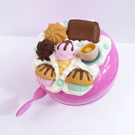 Dzwonek rowerowy ze słodyczami