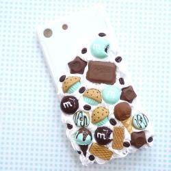 Obudowa na telefon z lodem i czekoladą