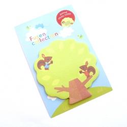 Karteczki samoprzylepne drzewko