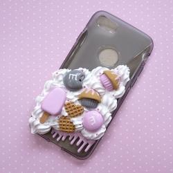 Obudowa na telefon z lodem i cukierkami