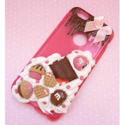 Obudowa na telefon ze słodyczami