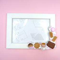 Ramka na zdjęcie ze słodyczami
