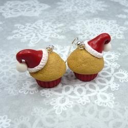 Kolczyki muffinki