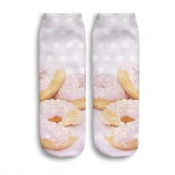 Skarpetki stopki w donuty