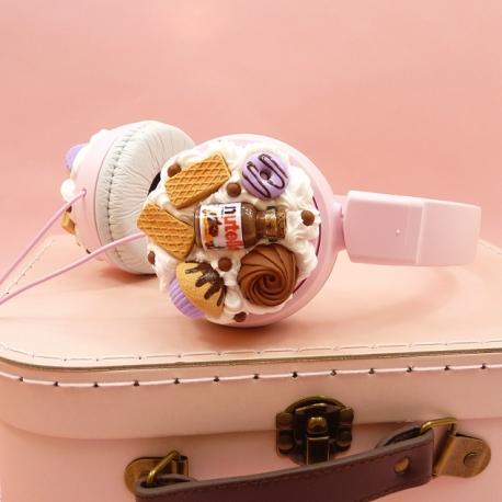 Słuchawki z muffinką
