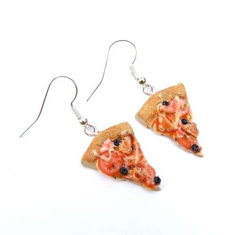 Kolczyki pizza