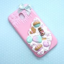 Obudowa na telefon z ciastkami i czekoladką