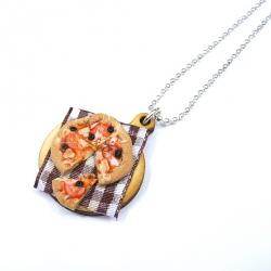 Naszyjnik z pizzą 5
