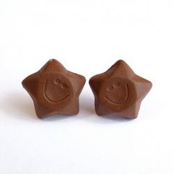 Sztyfty czekoladowe gwiazdki