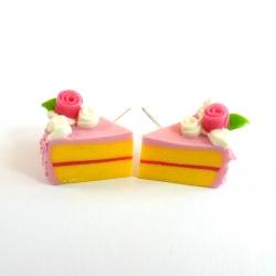 Sztyfty kawałki tortu