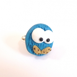 Pierścionek Cookie Monster